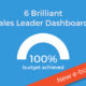 sales dashboard gauge